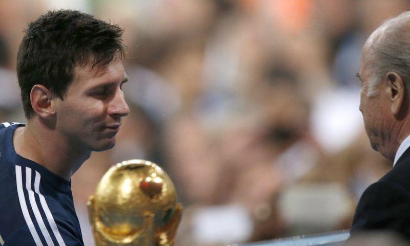 Afbeelding: Blatter onthult: 'Messi zei steeds tegen zichzelf: wel de beste, geen kampioen'
