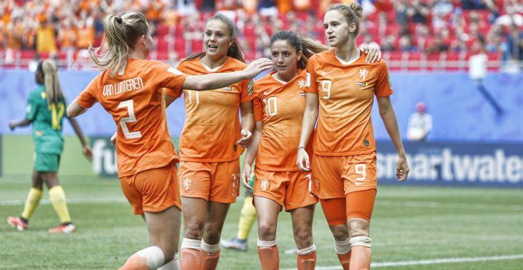 All-time topscorer Miedema helpt weinig sprankelend Oranje naar tweede ronde