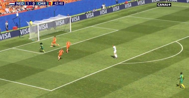 Oranje Leeuwinnen breken ban met heerlijke aanval, maar geven direct weer goal weg
