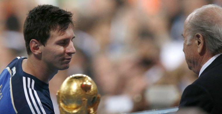Blatter onthult: 'Messi zei steeds tegen zichzelf: wel de beste, geen kampioen'