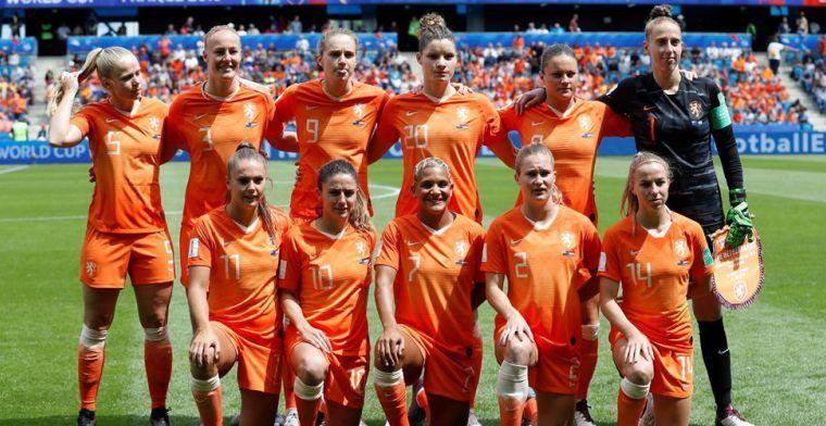 Leeuwinnen krijgen kritiek na WK-duel: 'Vrouwen liggen bijna 100 jaar achter'