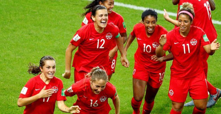 Canada verslaat Nieuw-Zeeland en strijdt met Oranje om groepswinst