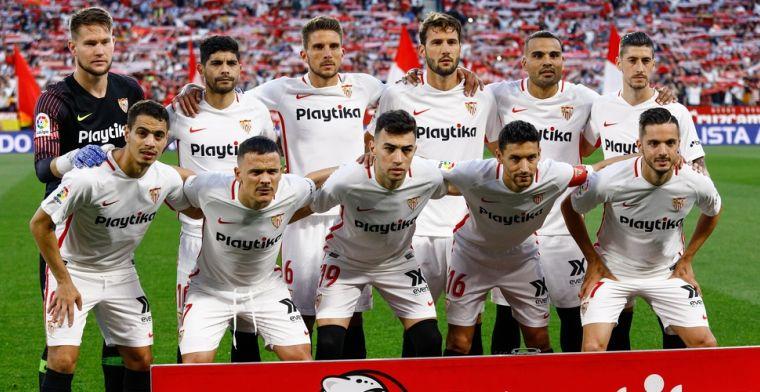 Wat?! Foto van reusachtige 12-jarige jeugdspeler Sevilla gaat viraal