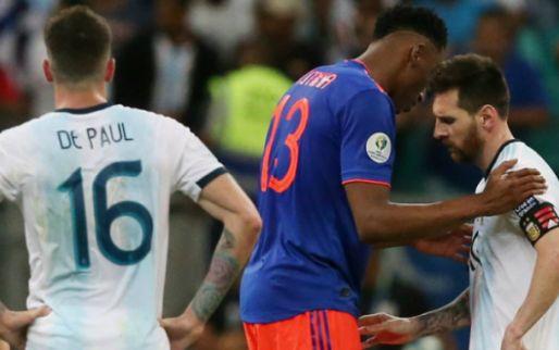 Afbeelding: Eerste Copa América-surprise een feit: Colombia deelt mokerslag uit aan Argentinië