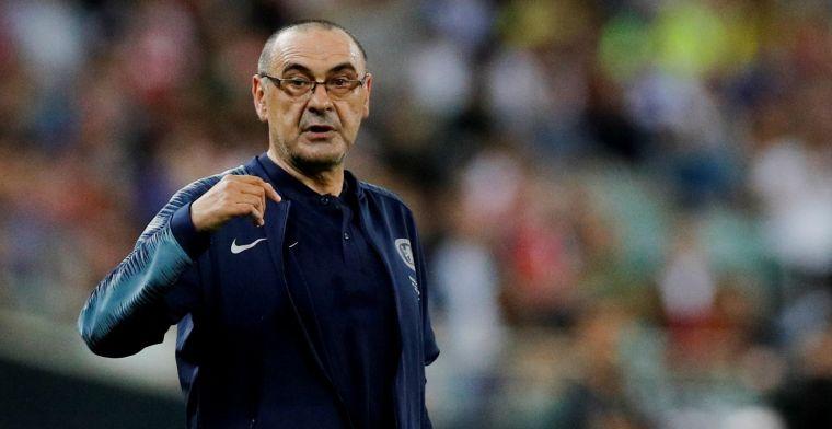 OFFICIEEL: Sarri vertrekt na één jaar bij Chelsea en wordt trainer van Juventus