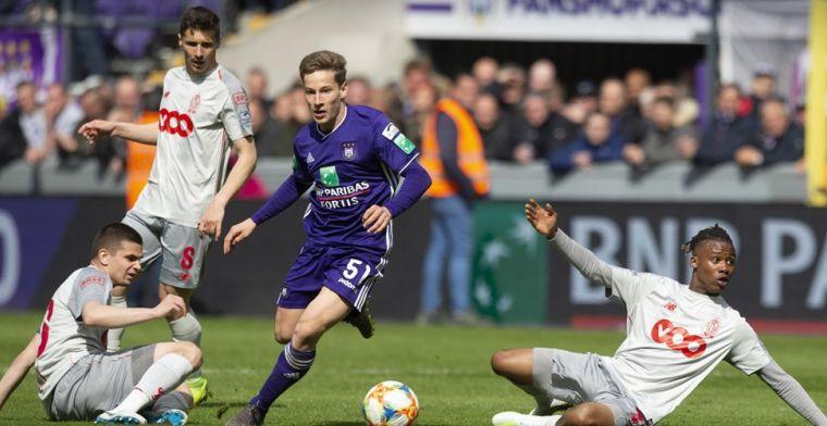 Ik heb met PSV gepraat, maar heb altijd voor Anderlecht willen kiezen