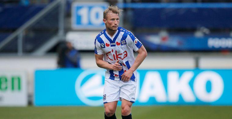 Back zoekt club na vertrek uit Heerenveen: 'Zandbak is niet mijn eerste optie'