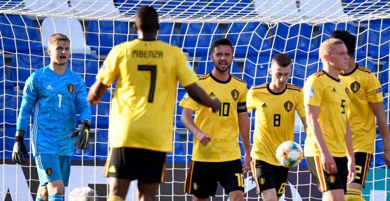 EK begint met domper: België lijdt vermijdbare nederlaag tegen Polen