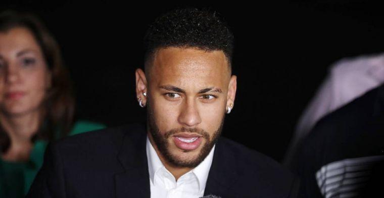 Breaking news van L'Equipe: Paris Saint-Germain en Neymar denken aan afscheid