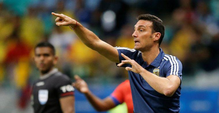 Argentijnse bondscoach haalt uit: 'Dat zulke spelers op zo'n veld moeten spelen'