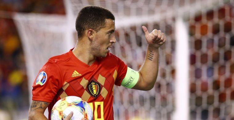 Hazard opgetogen: Mag bij Real Madrid spelen met één van mijn beste vrienden