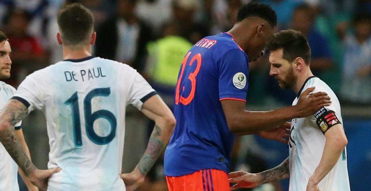 Eerste Copa América-surprise een feit: Colombia deelt mokerslag uit aan Argentinië