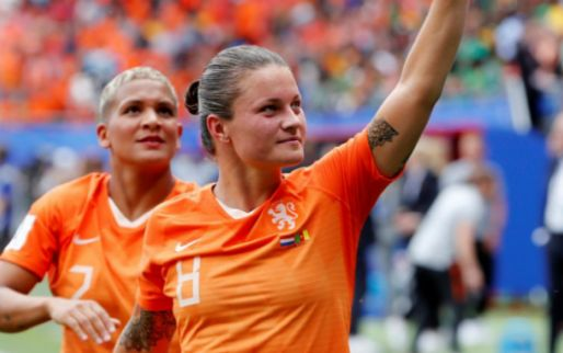 Afbeelding: Recordinternational Oranjevrouwen wijst Manchester United af: