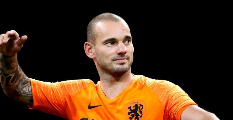 'Transfervrije Sneijder zoekt laatste avontuur: nul op het rekest in Turkije'