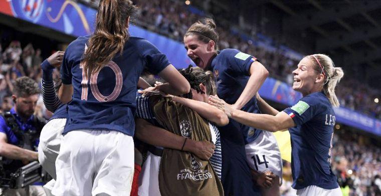 Frankrijk als groepswinnaar door na beladen slotfase, hoofdrol voor Makkelie