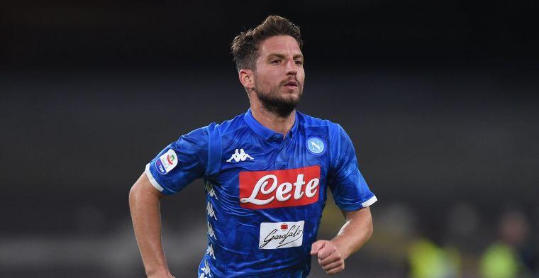Opmerkelijk: 'Napoli probeert Mertens nog te betrekken in een ruildeal'