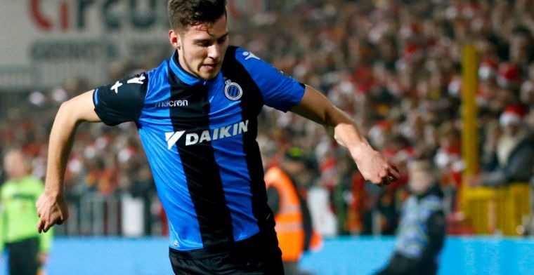 Vanlerberghe en Club Brugge opgelucht na goed blessurenieuws