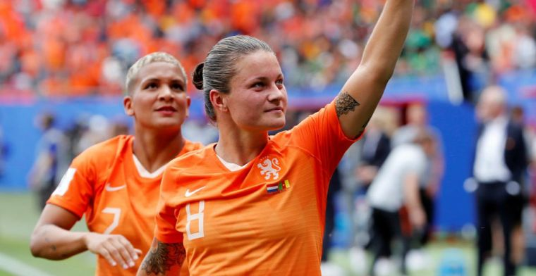 Recordinternational Oranjevrouwen wijst Manchester United af: Dat trek ik niet