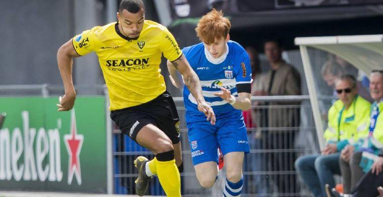 'Grot (21) kan terugkeren in Eredivisie na verhuurperiode bij VVV-Venlo'