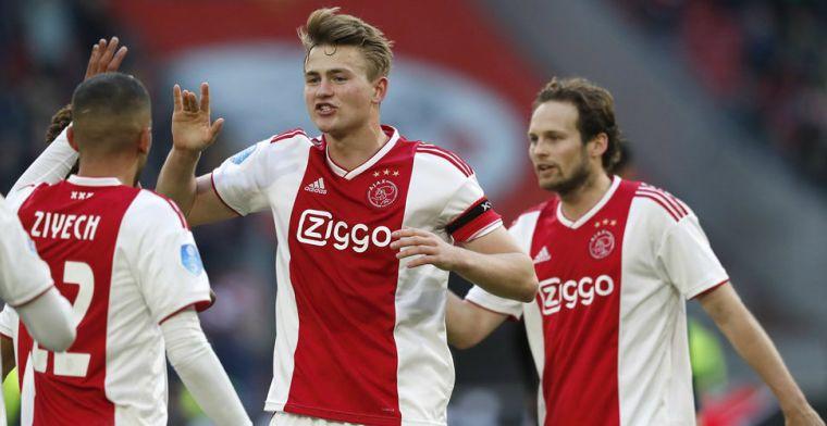 Transfersoap duurt verder: 'Omgeving De Ligt raadt transfer naar PSG af'