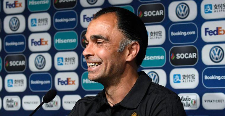 """Hoop doet leven bij de Belgische U21: """"We kunnen ons nog plaatsen"""""""