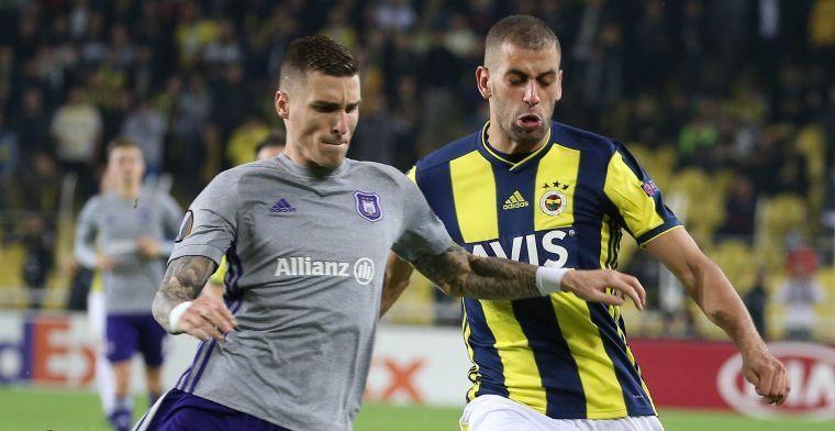 Vranjes traint weer mee na maanden in de B-kern van Anderlecht