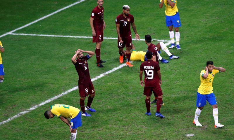 Afbeelding: VAR frustreert Brazilië en keurt drie doelpunten af, Peru wint van Bolivia