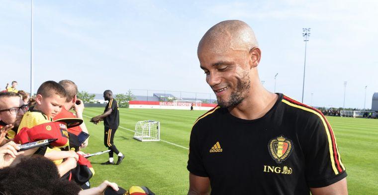 Anderlechtman staat te kijken van Kompany: 'Wat bleek: hij kende ze allemaal'