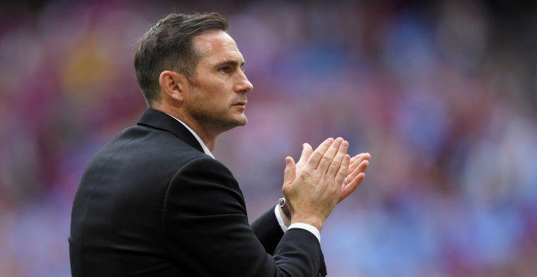Update: Derby County geeft Lampard vrijbrief om met Chelsea te onderhandelen