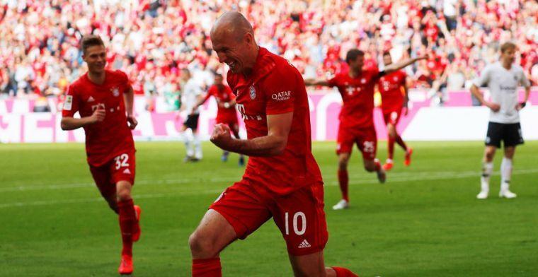 'Einde carrière dreigt alsnog voor nog altijd niet fitte Robben'