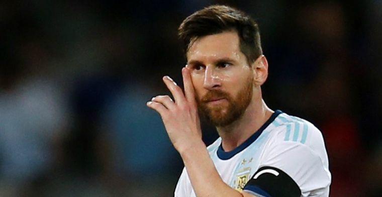 Medelijden voor 'beste ter wereld' Messi: 'Zelfs Tagliafico van Ajax was slecht'