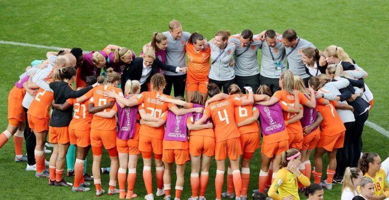 'Oranje is minder dan op het EK, toen vond ik ze eigenlijk allemaal goed spelen'