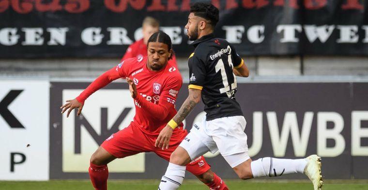 'Ex-Feyenoord- en FC Twente-talent meldt zich na 30 speelminuten bij Go Ahead'