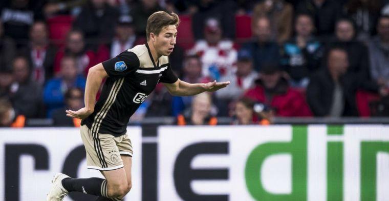 'Ik heb vijf maanden niet getraind bij Ajax, dus ik moet geleidelijk aan meedoen'