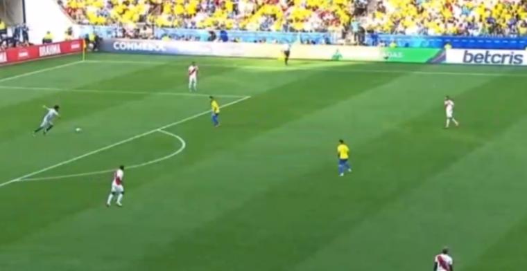 Brazilië lijkt los op Copa América: 3-0 na half uur, curieus doelpunt van Firmino