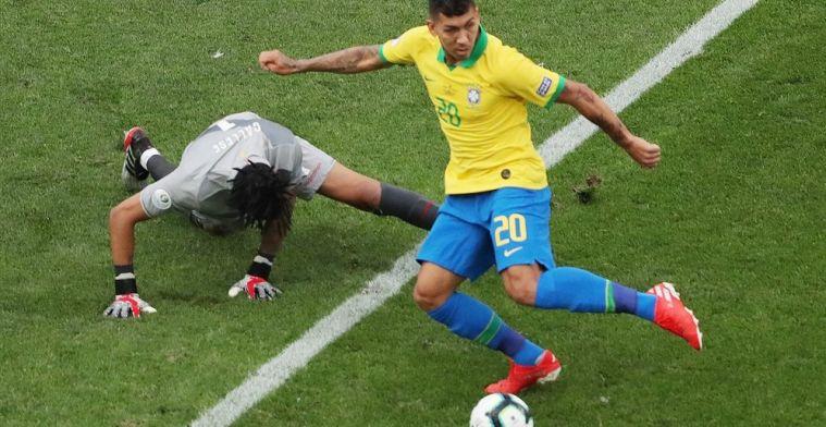 Neres geslachtofferd bij Brazilië: ploeg swingt naar ruime zege en de kwartfinales