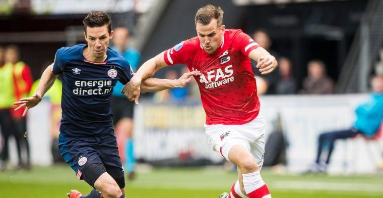 'Feyenoord richt vizier op Alkmaar en is uit op handtekening overbodige AZ'er'
