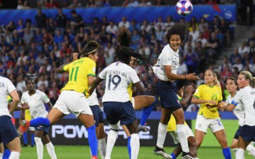 Afbeelding: Sprookje Frankrijk krijgt vervolg: Brazilië na verlenging uitgeschakeld