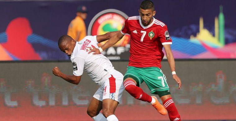 Boussoufa en ploeterend Marokko winnen dankzij eigen goal in minuut 90