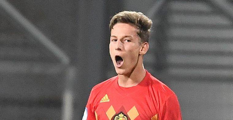 """Verschaeren jongste doelpuntenmaker op EK U21: """"Erg Trots op mijn goal"""""""