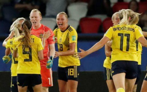 Afbeelding: Zweden door naar kwartfinale WK na heldenrol van keepster
