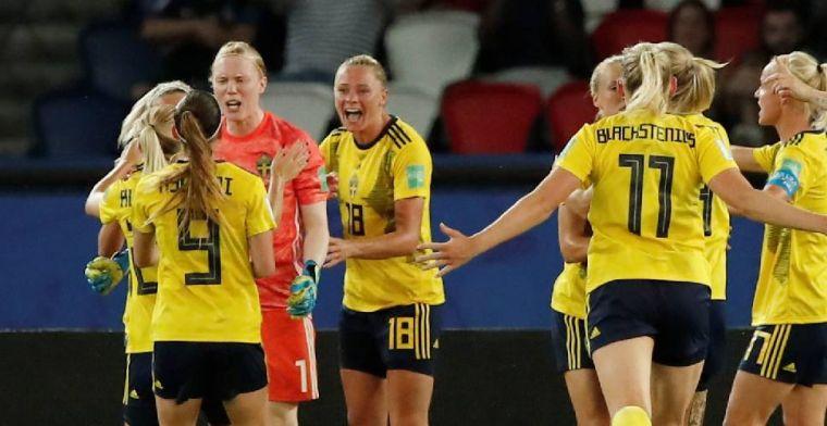 Zweden door naar kwartfinale WK na heldenrol van keepster