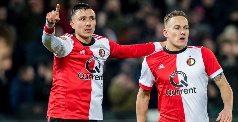 'Feyenoord wil Berghuis niet naar PSV laten gaan en zet in op verlenging'