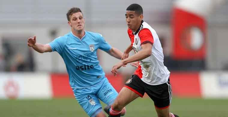En dat is vijf: volgend Feyenoord-talent verkast naar Keuken Kampioen Divisie