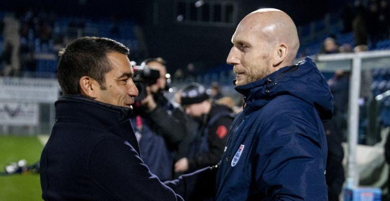 Stam leidt eerste Feyenoord-training: uitgedunde selectie en een nieuw gezicht