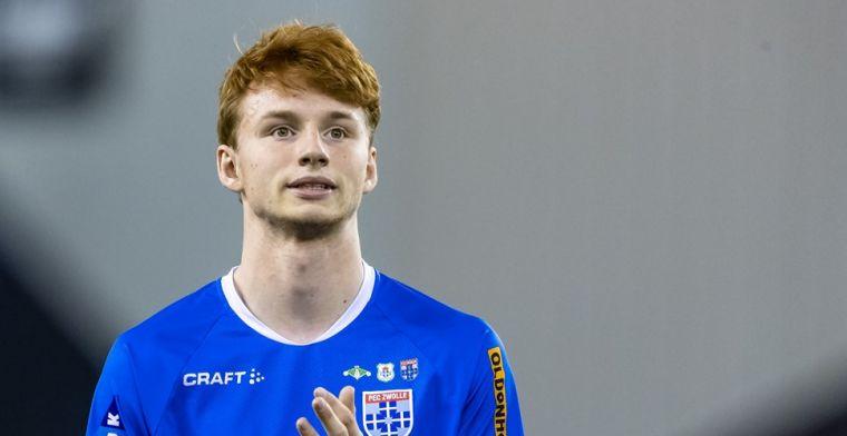 'Toptalent Van den Berg (17) ontbreekt op training PEC: transfer aanstaande'