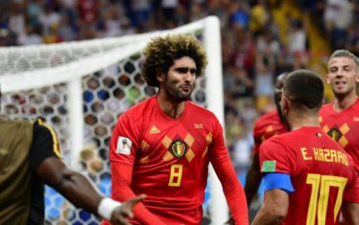 Afbeelding: Fellaini scoort, maar geen kwartfinales in Aziatische Champions League
