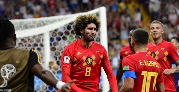 Fellaini scoort, maar geen kwartfinales in Aziatische Champions League