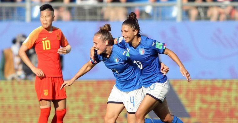 Italië schakelt China uit en is tegenstander van Oranje in eventuele kwartfinale