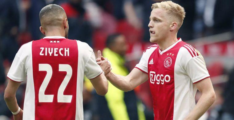 AD: 'Internationale topclub' volgt Van de Beek, Ajax wil minstens vijftig miljoen